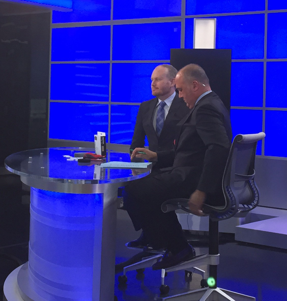 NECN CEO Corner Interview with Velcro Companies Fraser Cameron, President and CEO